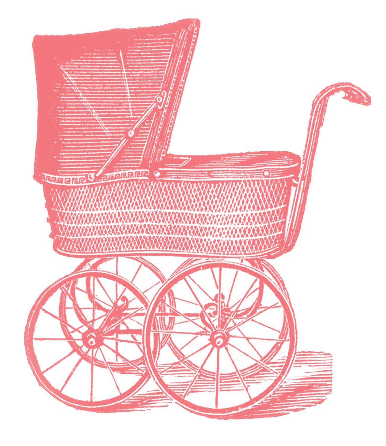 Baby girl vintage carriage clipart banner royalty free download Royalty Free Images - Vintage Baby Carriages | pc babyshower | Baby ... banner royalty free download