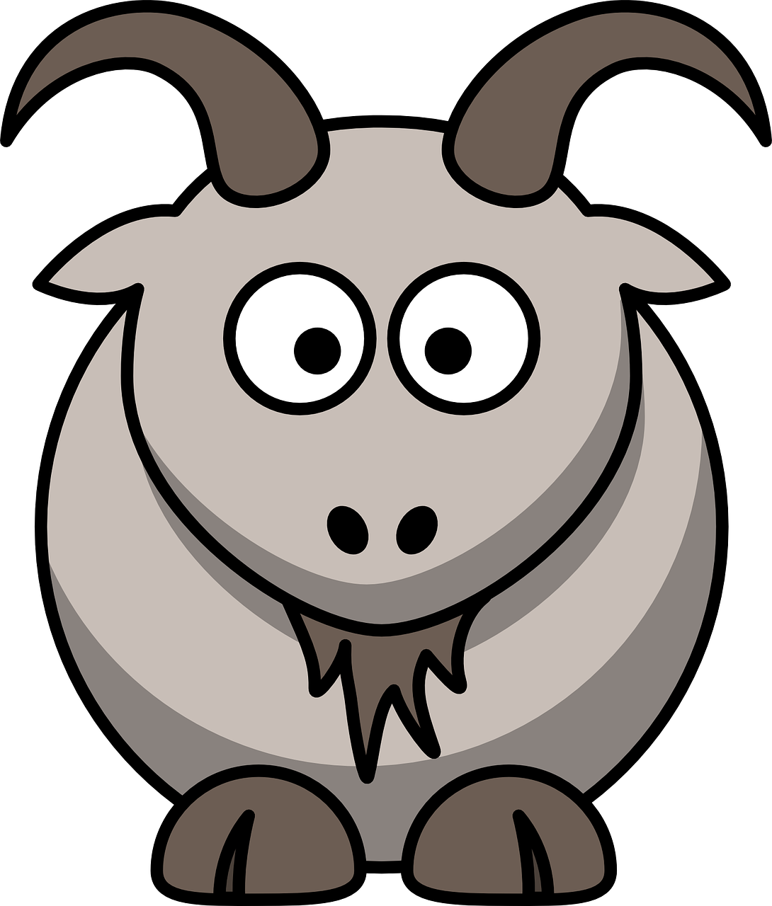 Baby goat face clipart picture royalty free download Free Image on Pixabay - Animal, Goat, Face, Head, Hooves   Words ... picture royalty free download