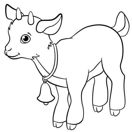 Baby goat face clipart banner black and white Baby goat clipart 6 » Clipart Portal banner black and white
