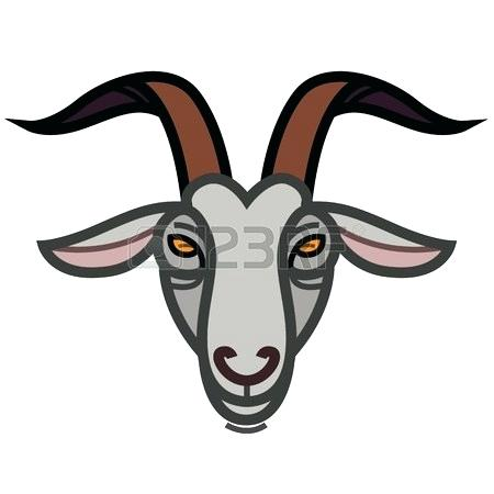 Baby goat face clipart vector library stock Collection of Goat clipart   Free download best Goat clipart on ... vector library stock