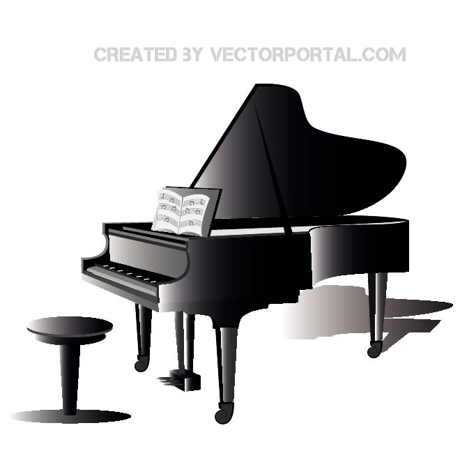 Baby grand piano clipart images banner library download Free Piano Clipart, Download Free Clip Art, Free Clip Art on Clipart ... banner library download