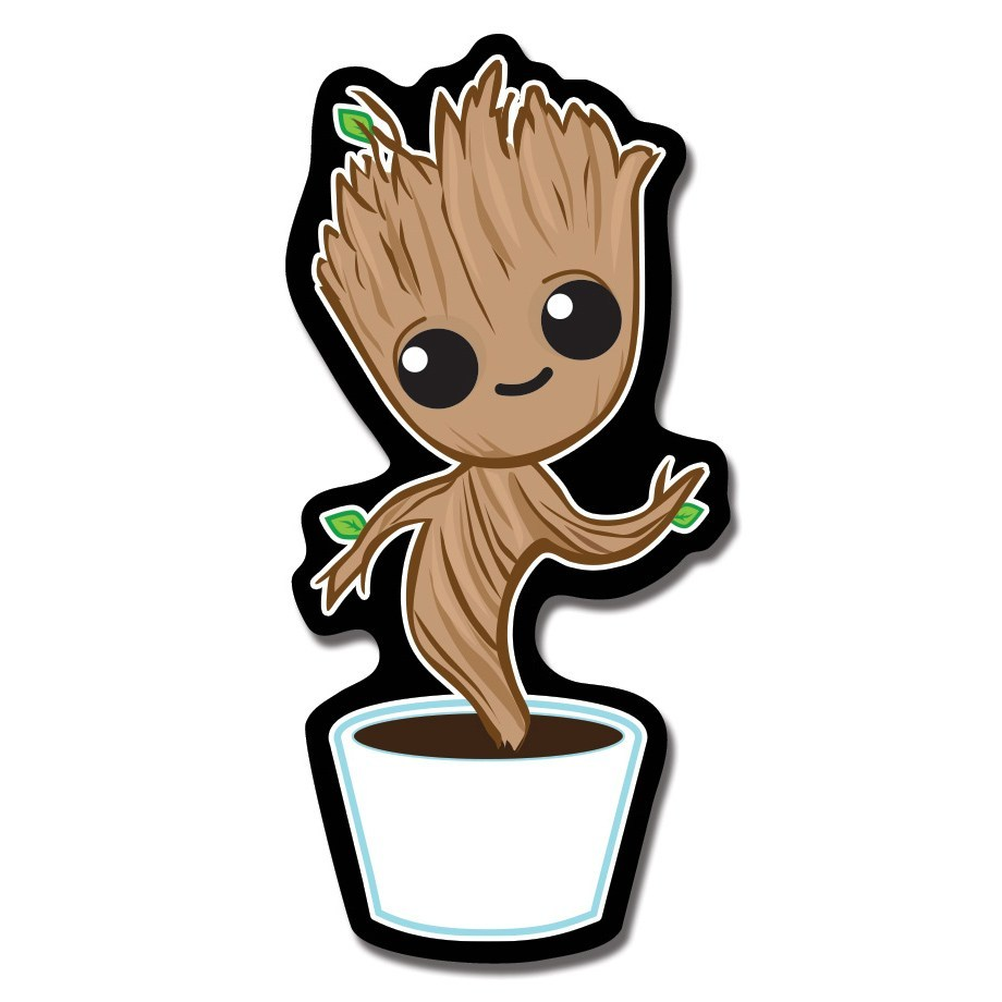 Baby groot dancing clipart jpg black and white download Baby groot clipart 5 » Clipart Portal jpg black and white download