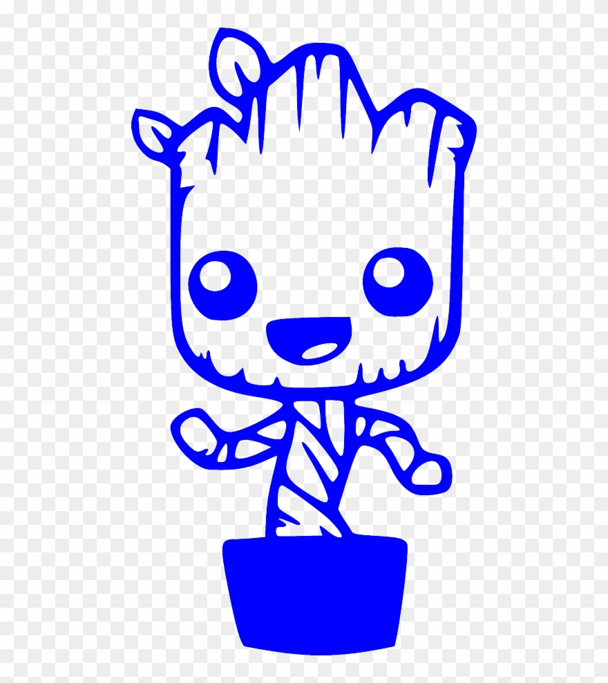 Baby groot dancing clipart clipart black and white download Baby Groot Dancing Guardians Of The Galaxy Funny Car - Baby Groot In ... clipart black and white download