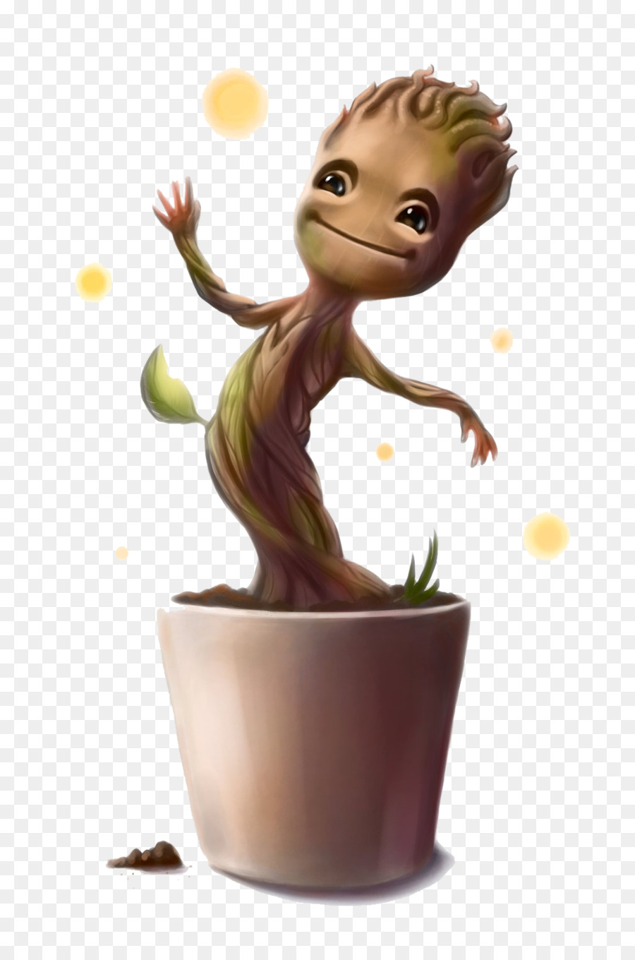 Baby groot dancing clipart graphic library library Groot Flowerpot png download - 1024*1536 - Free Transparent Groot ... graphic library library