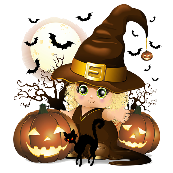 Baby halloween clipart jpg black and white stock CH.B *✿* | Halloween | Pinterest | Witches and Halloween clipart jpg black and white stock