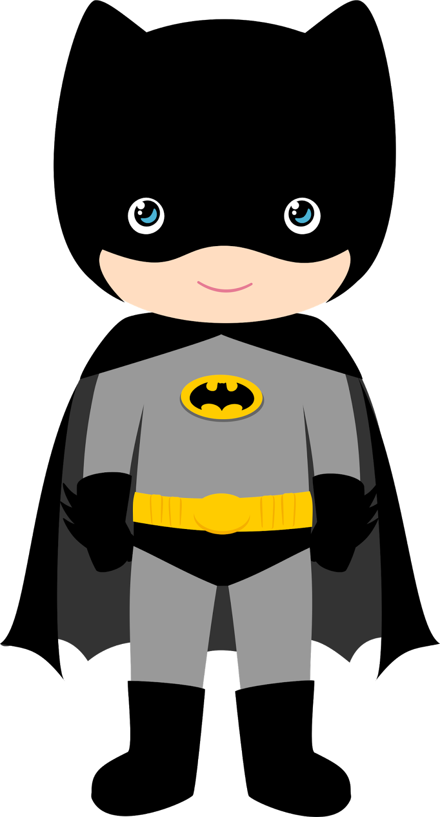 Halloween mask clipart jpg library library Characters of Batman Kids Version Clip Art. | Birthday | Pinterest ... jpg library library
