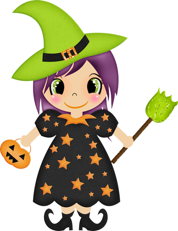 Halloween school clipart vector free HALLOWEEN WITCH CLIP ART | BRUJAS | Pinterest | Clip art, Witches ... vector free