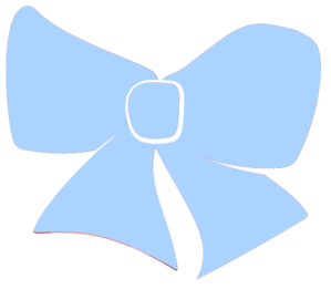 Baby head bow clipart clip transparent library Baby Blue Hair Bow Clip Art at Clker.com - vector clip art online ... clip transparent library