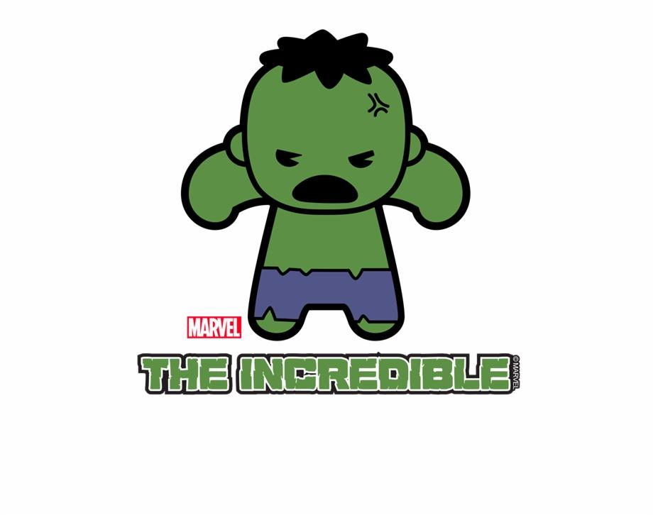 Hulk Clipart Baby - Hulk Kawaii Free PNG Images & Clipart Download ... vector transparent library