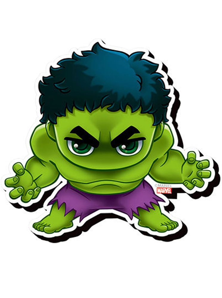 Incredible Hulk Chibi Funky Chunky Magnet Marvel Comics Heroes ... png library download