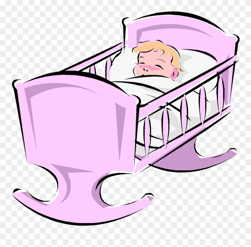 Baby in a crib clipart jpg free Малыши - Cartoon Baby In A Crib Clipart (#2103431) - PinClipart jpg free