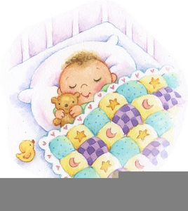 Baby in a crib clipart clipart download Baby Asleep In A Crib Clipart | Free Images at Clker.com - vector ... clipart download