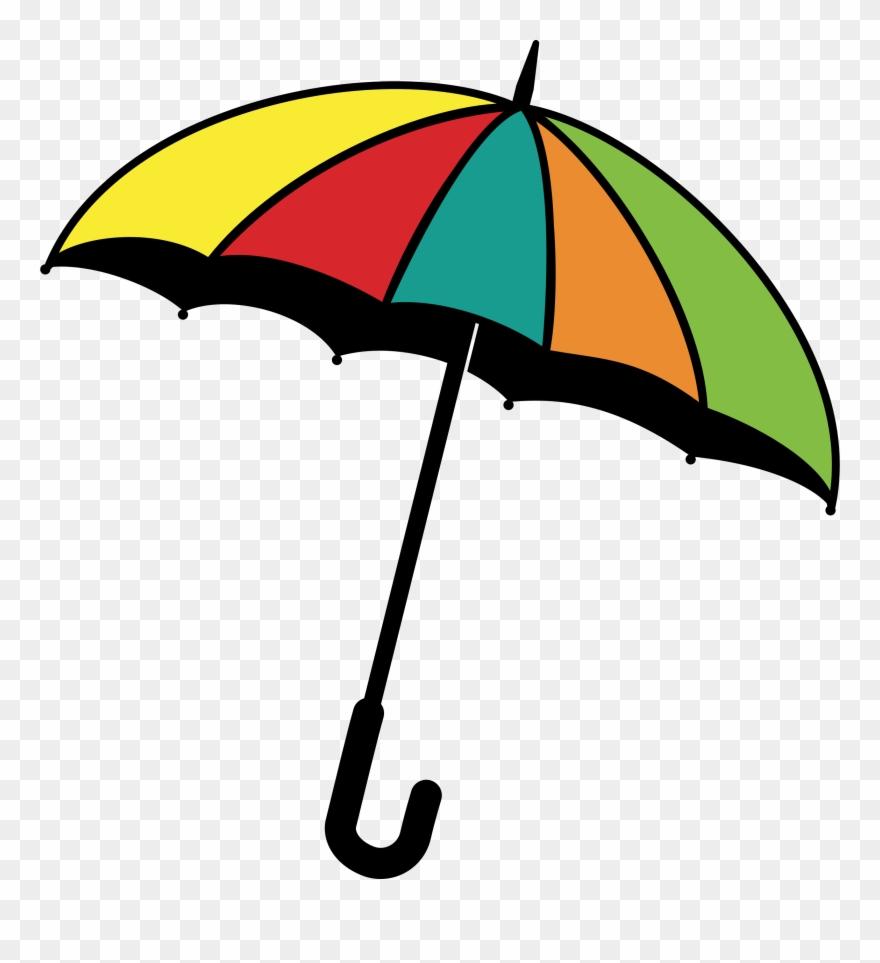 Baby in an umbrella clipart vector freeuse download Baby Umbrella Clip Art - Umbrella - Png Download (#1729651) - PinClipart vector freeuse download