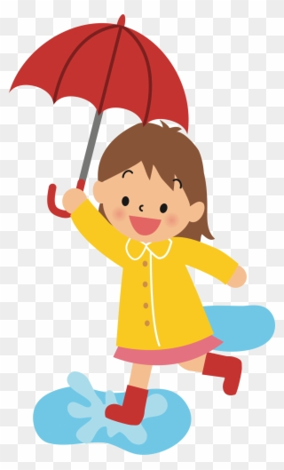 Baby in an umbrella clipart svg freeuse download With Umbrella Silhouette At Getdrawings Com Free - Girl With ... svg freeuse download