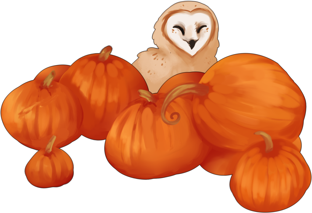 Pumpkin clipart in every color banner black and white download The Great Harvest (2017-CLOSED) by DracoStryx on DeviantArt banner black and white download