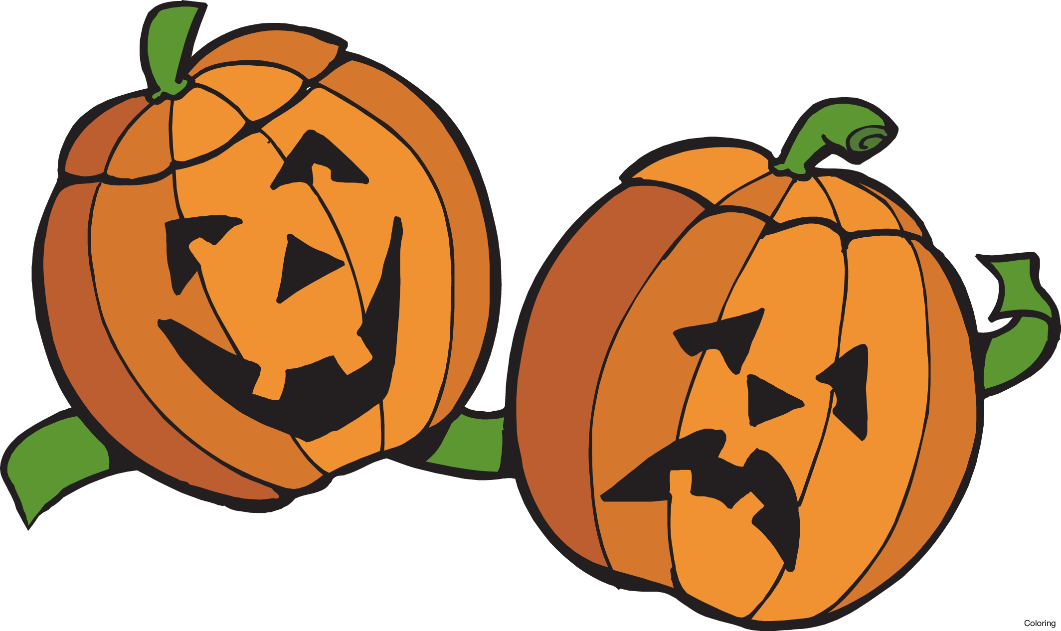 Silly pumpkin faces clipart png transparent library Pumpkin Patch Clipart (60+) png transparent library