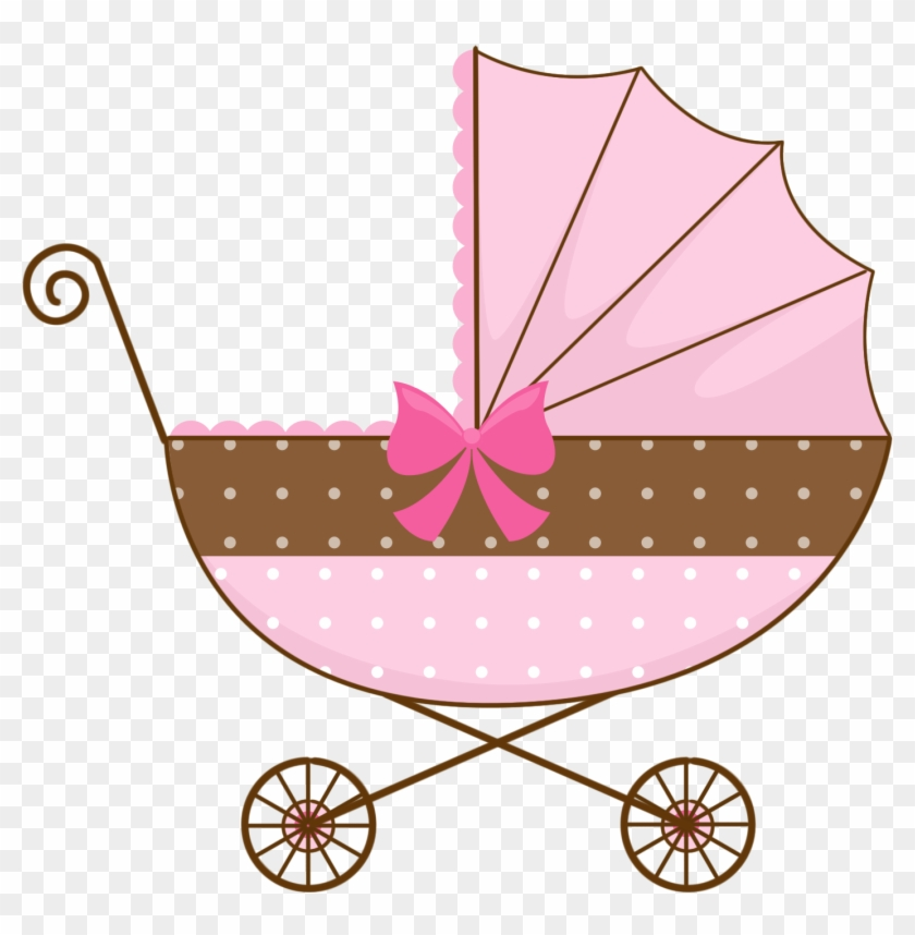 Baby in stroller clipart free Watermelon Baby Carriage Template - Pink Baby Stroller Clipart, HD ... free
