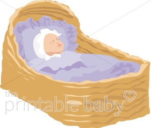Baby in the cradle clipart jpg Baby in Cradle Clipart | Sleeping Baby Clipart jpg