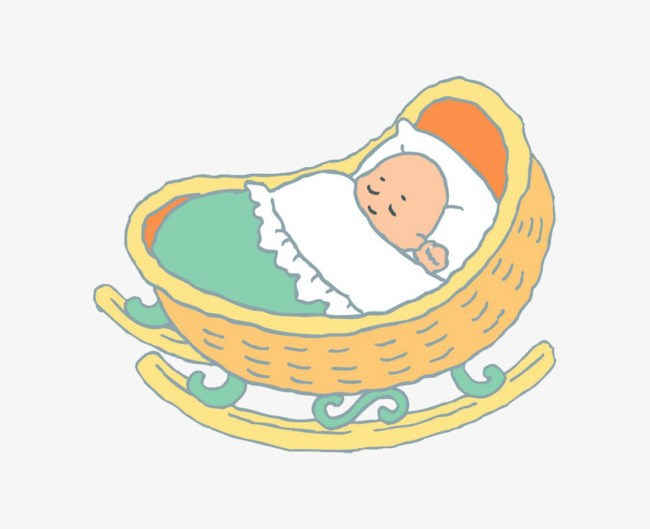 Baby in the cradle clipart png free Baby in cradle clipart 7 » Clipart Portal png free