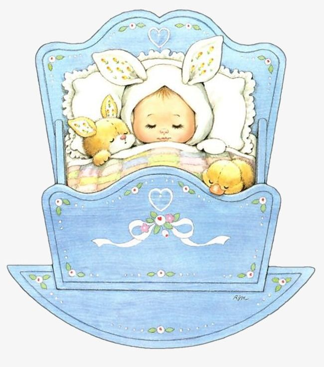Baby in the cradle clipart png free library Sleeping Baby PNG, Clipart, Baby, Baby Clipart, Cartoon, Cradle ... png free library