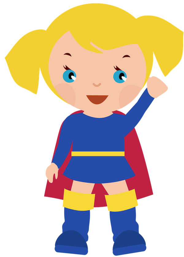 Cute boy with money clipart freeuse library Female superhero clipart clipart clipartcow | Supergirl party ... freeuse library