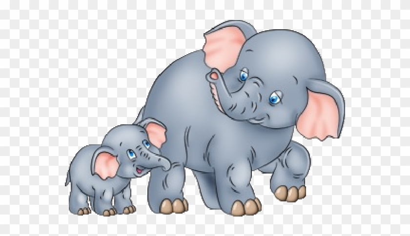 Baby india elephants clipart picture free download Elephant Cartoon Clip Art - Mother And Baby Elephant Clipart, HD Png ... picture free download
