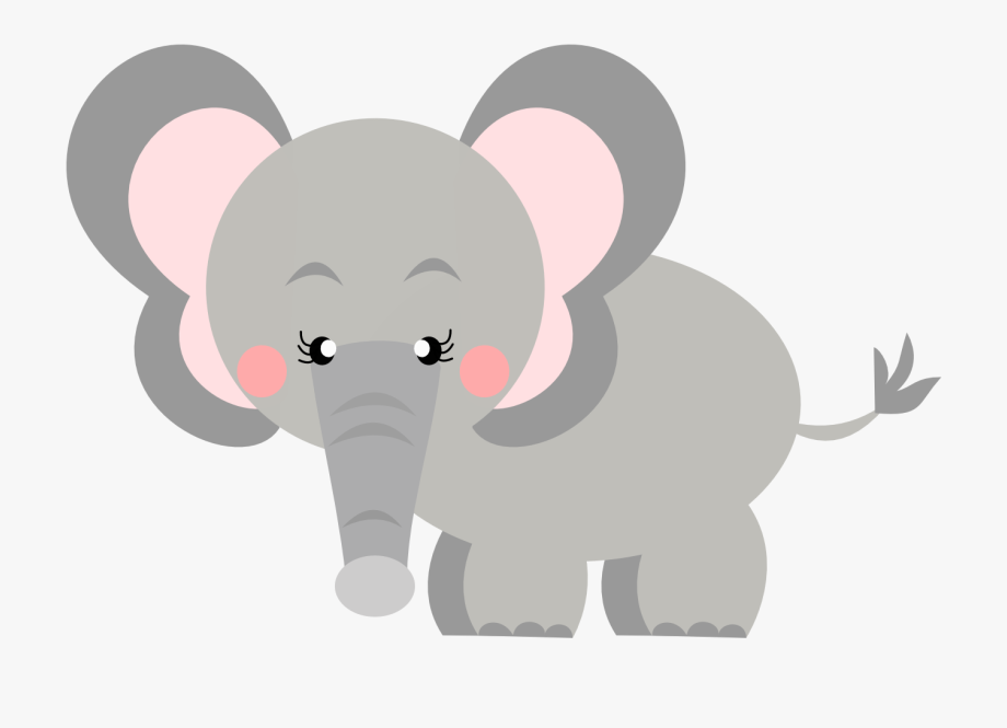Free baby safari clipart vector library download Safari Clipart Baby Elephant - Elefante Safari Baby Png #281170 ... vector library download