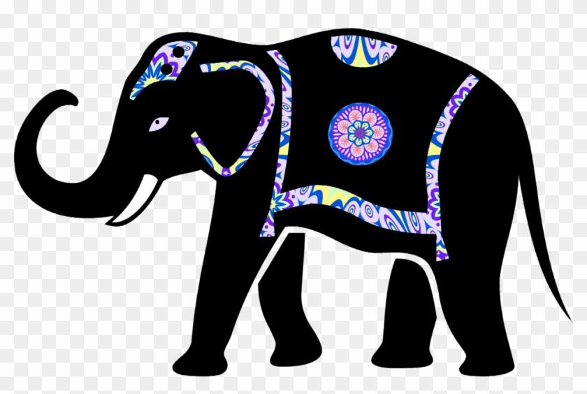 Baby india elephants clipart vector royalty free download African Elephant Elephantidae Animal Silhouettes Baby - Decorated ... vector royalty free download