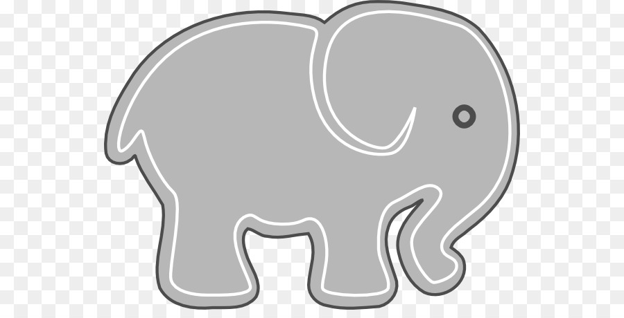 Baby indian elephants clipart png library download Baby Elephant Cartoon png download - 600*448 - Free Transparent ... png library download