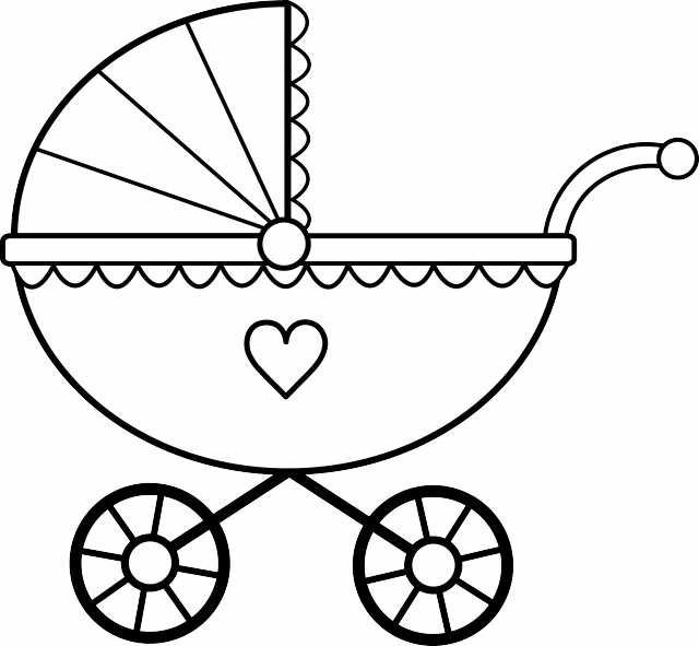 Baby items black and white clipart vector freeuse of a black and white baby | Clipart Panda - Free Clipart Images vector freeuse