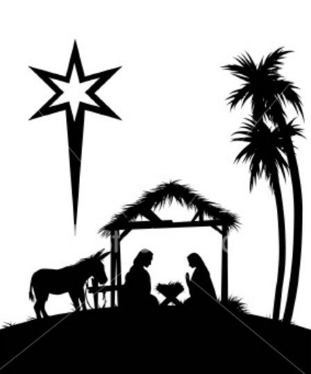 Baby jesus black silloutte clipart picture Baby Jesus Clipart Black And White | Free download best Baby Jesus ... picture