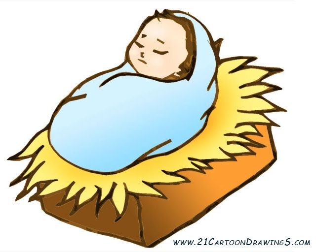 Baby jesus clipart picture library library Cartoon Baby Jesus Group with 79+ items picture library library
