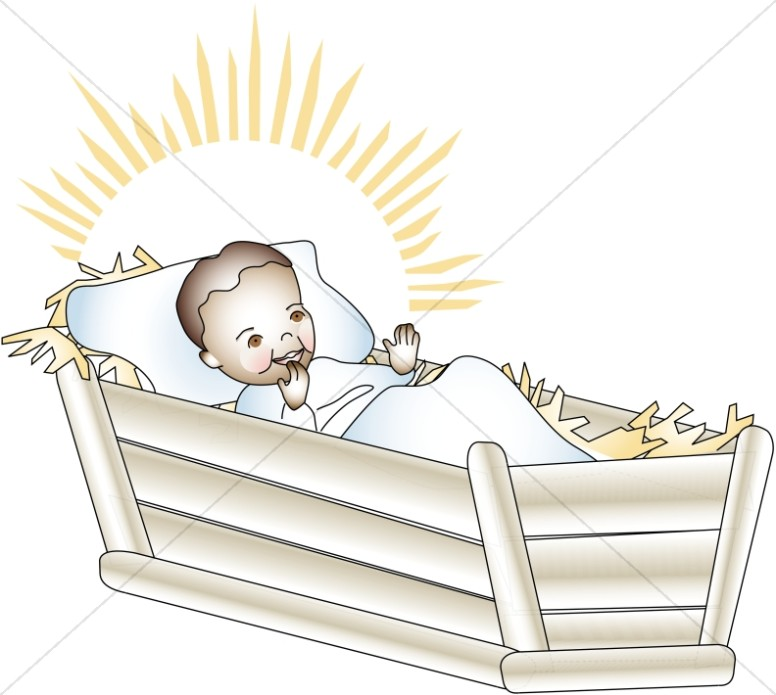 Baby jesus in a manger free clipart picture black and white Download baby jesus clipart Manger Christ Child Clip art   Child ... picture black and white
