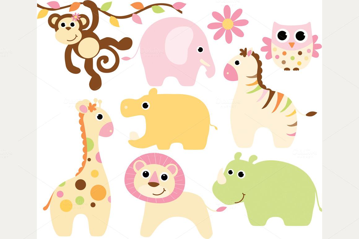 Baby jungle safari clipart royalty free Free Baby Safari Cliparts, Download Free Clip Art, Free Clip Art on ... royalty free