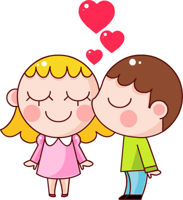 Kiss clipart images clip royalty free stock Cartoon Kissing Clipart - Free Clipart clip royalty free stock