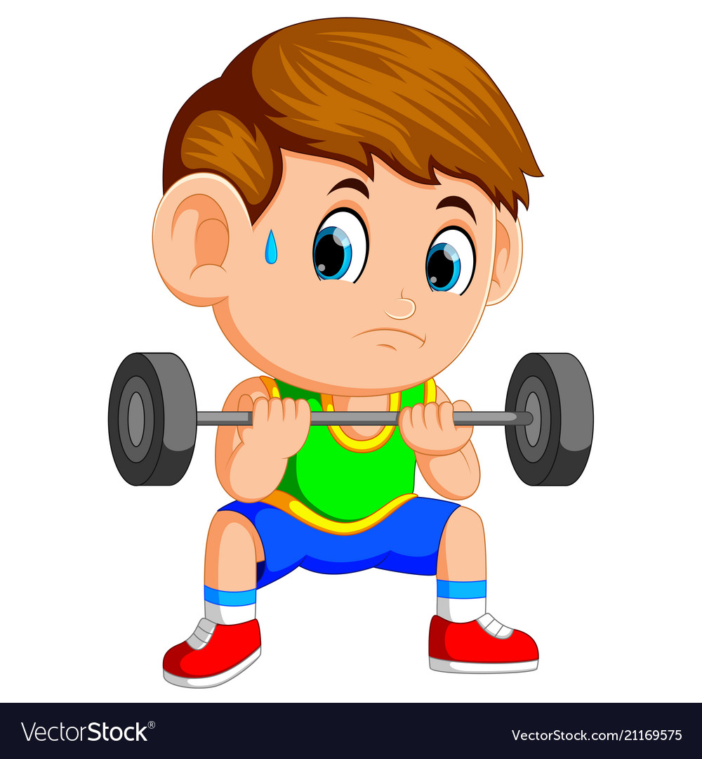 Baby lifting weight clipart picture freeuse A boy lifting weights picture freeuse