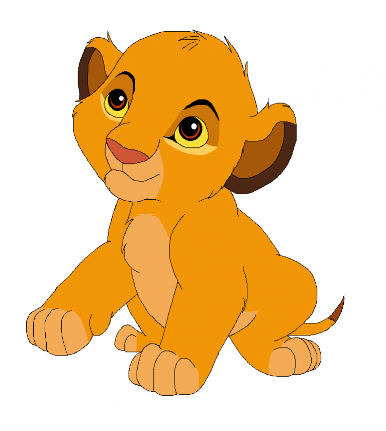 Baby lion cub clipart svg transparent download Lion King clipart - Lion, Cartoon, Orange, transparent clip art svg transparent download