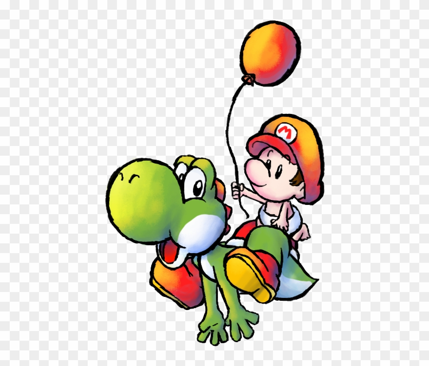 Yoshi & Baby Mario Clipart (#2240999) - PinClipart clipart library download