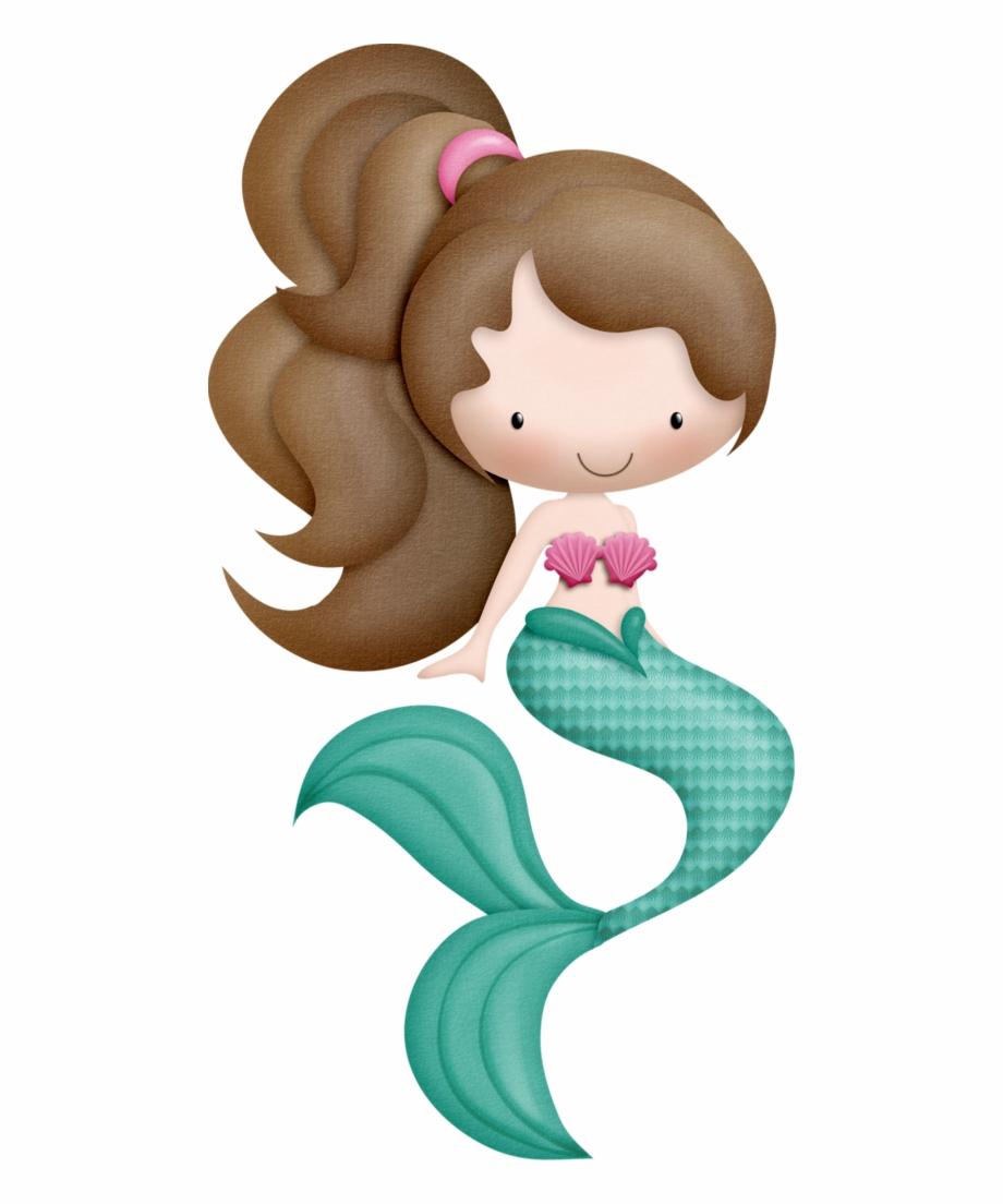 Mermaid baby clipart image royalty free download Kmill Png Clip Art And Mermaids - Baby Mermaid Clipart Free PNG ... image royalty free download