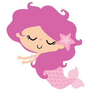 Mermaid baby clipart svg black and white Baby Mermaid Clipart   Free download best Baby Mermaid Clipart on ... svg black and white