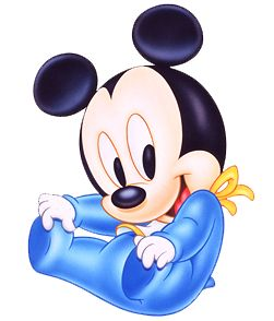Baby mickey mouse clipart free