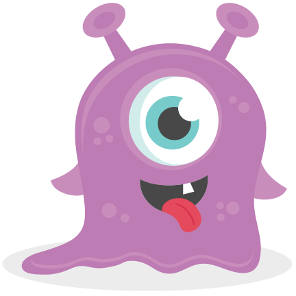 Baby monster clipart picture download Baby Monster SVG scrapbook cut file cute clipart files for ... picture download