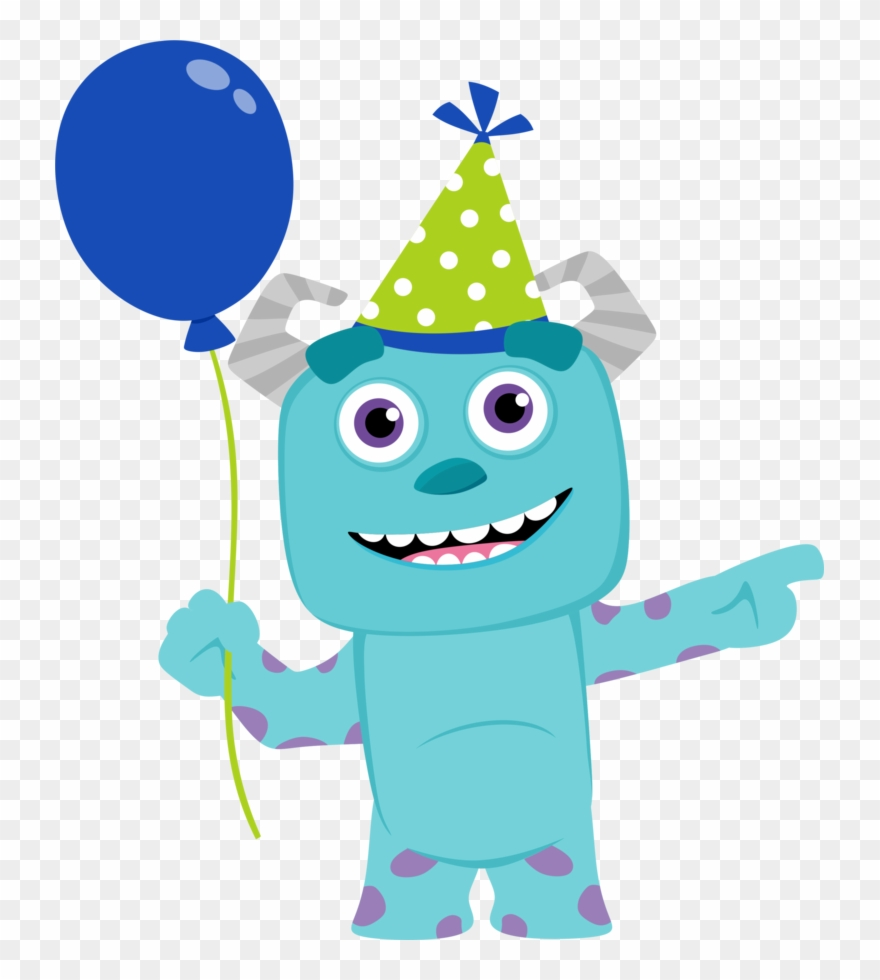 Baby monster clipart picture black and white library Clipart De Monster Party Bebés - Monsters Inc Baby Characters - Png ... picture black and white library