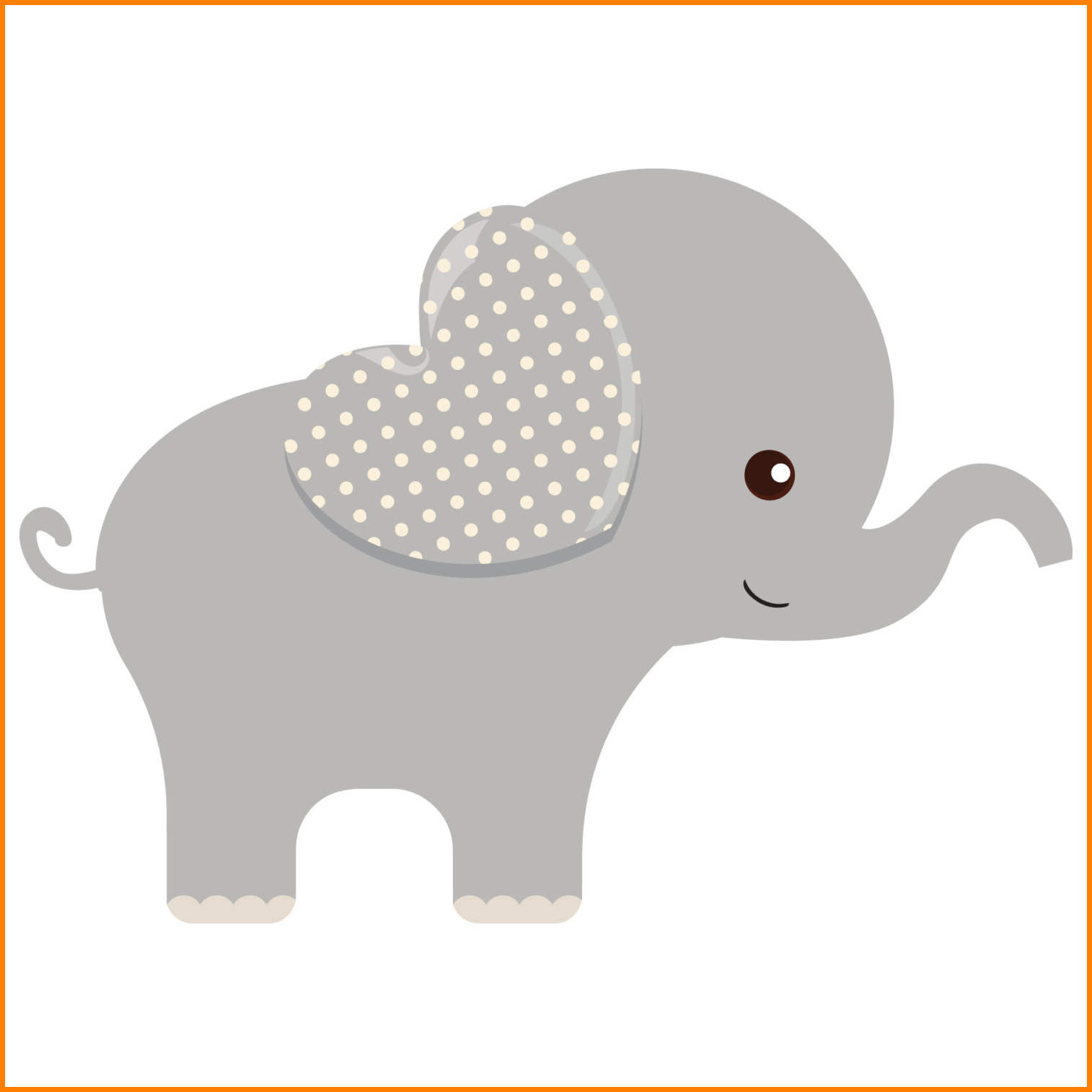 Baby shower elephant clipart vector freeuse library Baby shower elephant clipart 1 » Clipart Station vector freeuse library