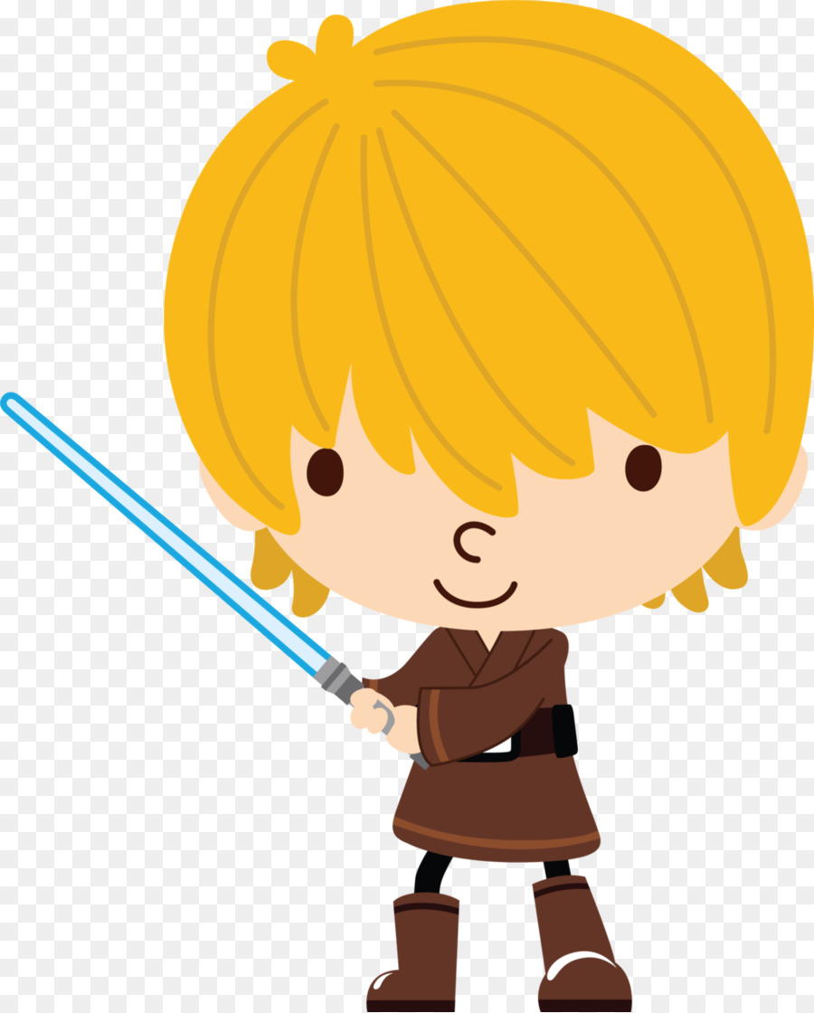 Baby orange star wars clipart royalty free library Download star wars png clipart Luke Skywalker Anakin Skywalker ... royalty free library
