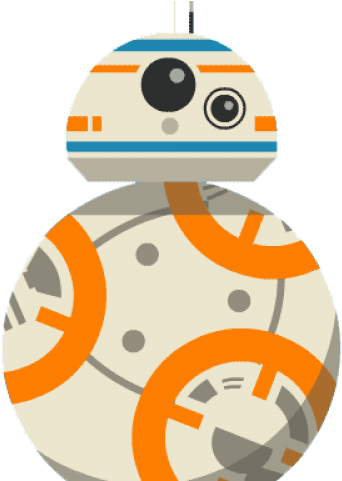 Baby orange star wars clipart clip art library library HD Star Wars Clipart Orange Robot - Bb8 Animated Gif Transparent PNG ... clip art library library