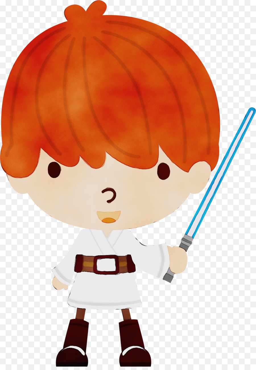 Baby orange star wars clipart clipart royalty free library Luke Skywalker Cartoon png download - 900*1288 - Free Transparent ... clipart royalty free library