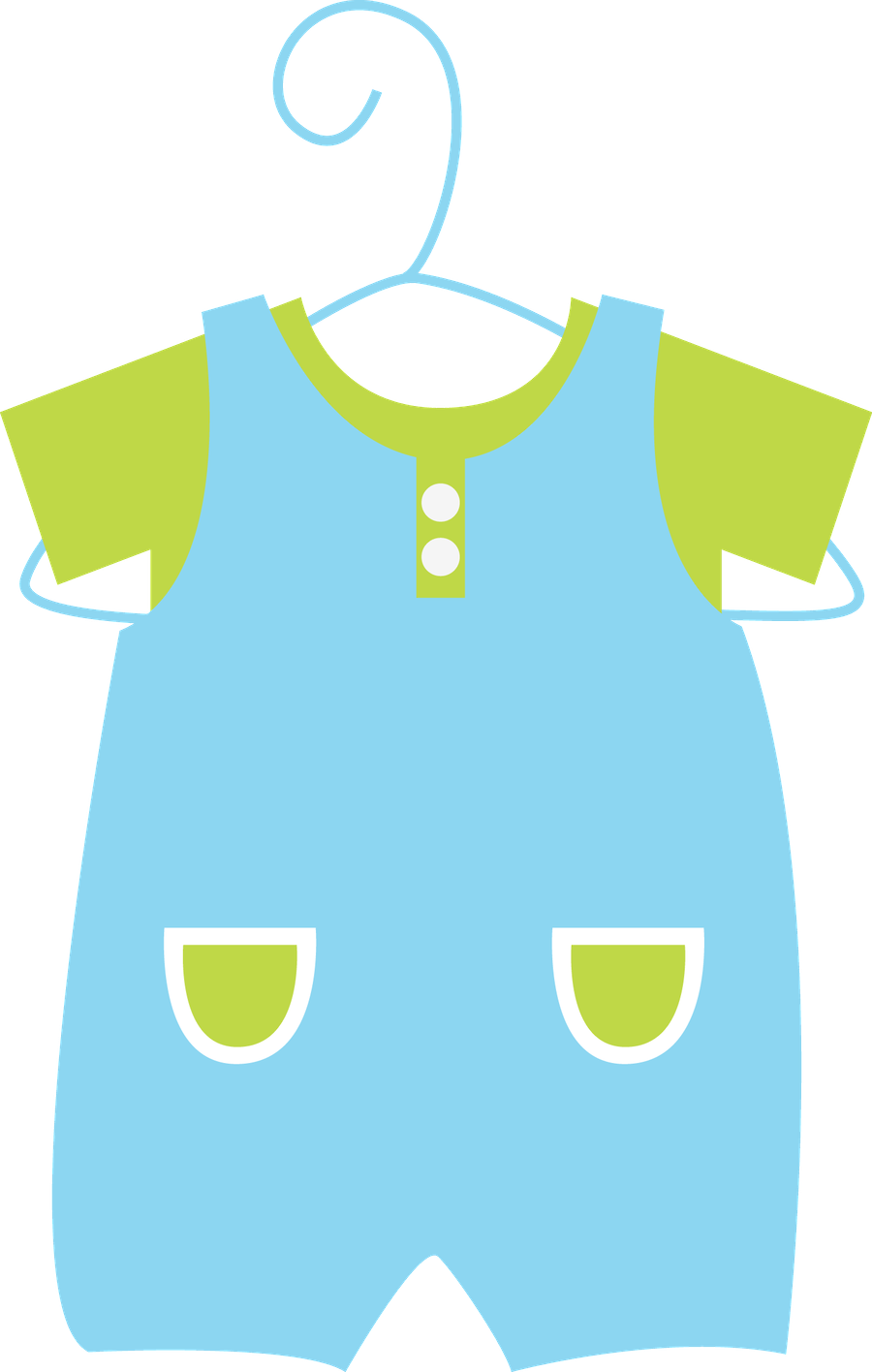 Baby overalls clipart png royalty free library Baby Clothes Clipart | Free download best Baby Clothes Clipart on ... png royalty free library