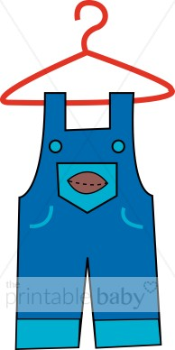 Baby overalls clipart freeuse stock Overalls Clipart | Baby Clothing Clipart freeuse stock