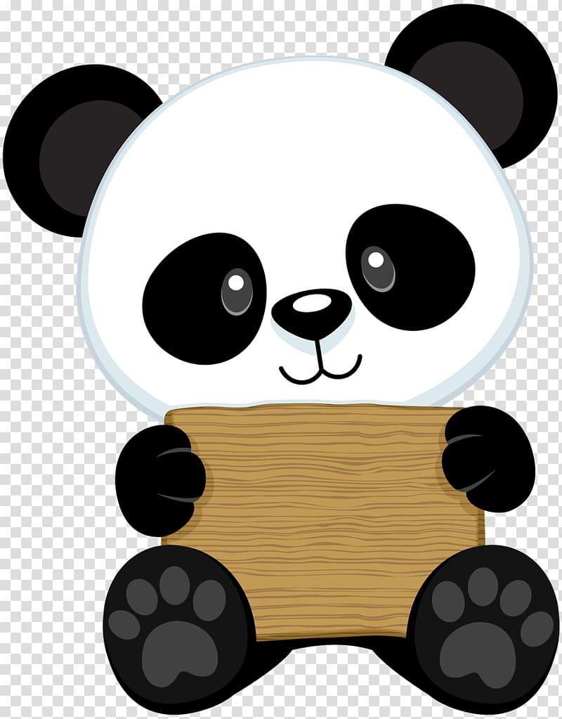Baby panda clipart vector transparent library White and black panda , Giant panda Bear Drawing Red panda Baby ... vector transparent library